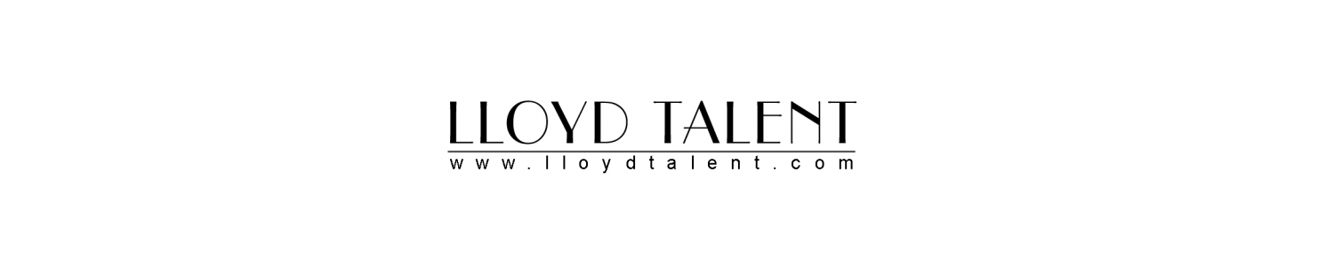 Lloyd Talent Agency Banner