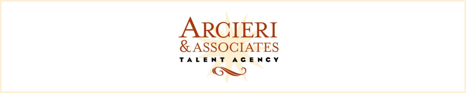Arcieri & Associates Talent Agency Banner