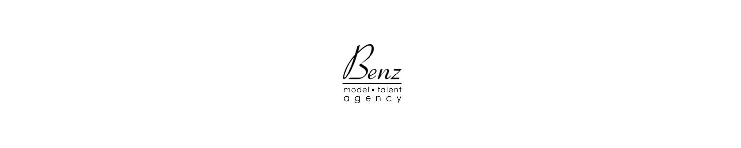Benz Model and Talent Agency Banner