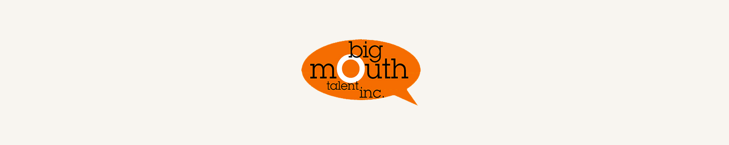 Big Mouth Talent Banner