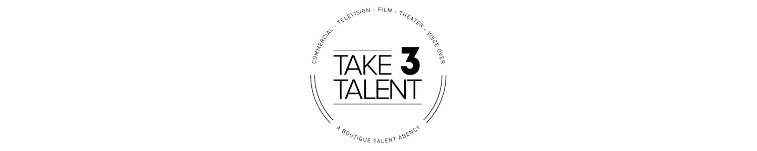 Take 3 Talent Agency, Inc. Banner