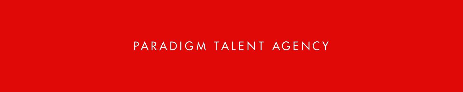 Paradigm Talent Agency Banner