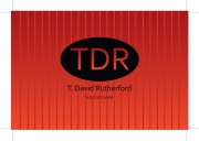 T David Rutherford